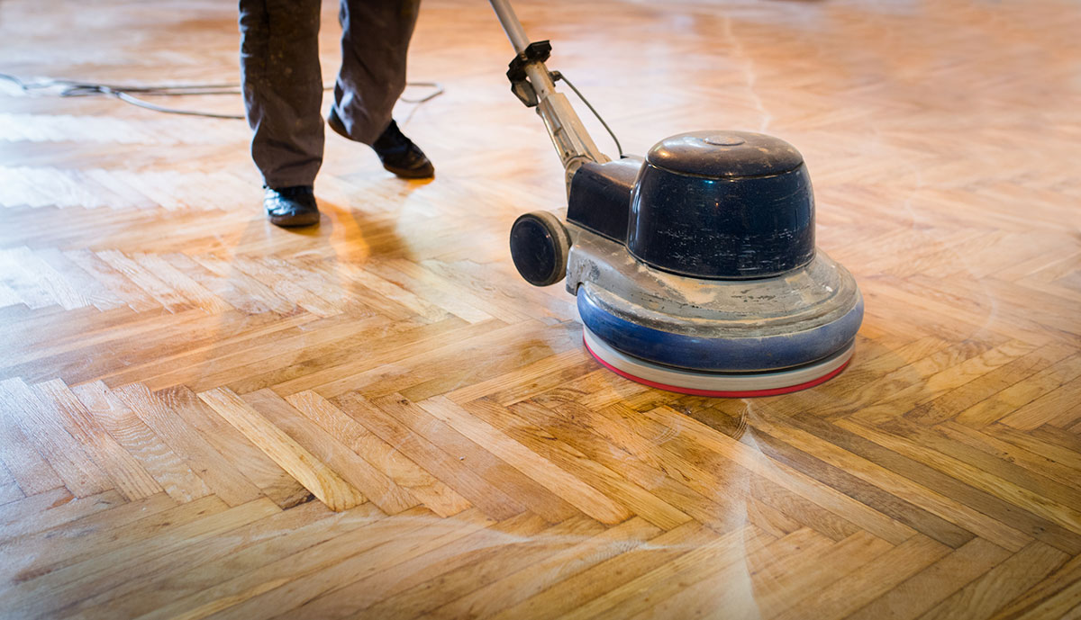 wood floor refinishing options