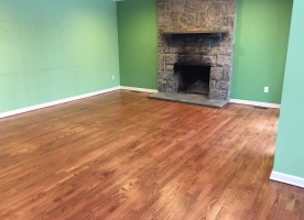 Wood floors - Semi gloss finish