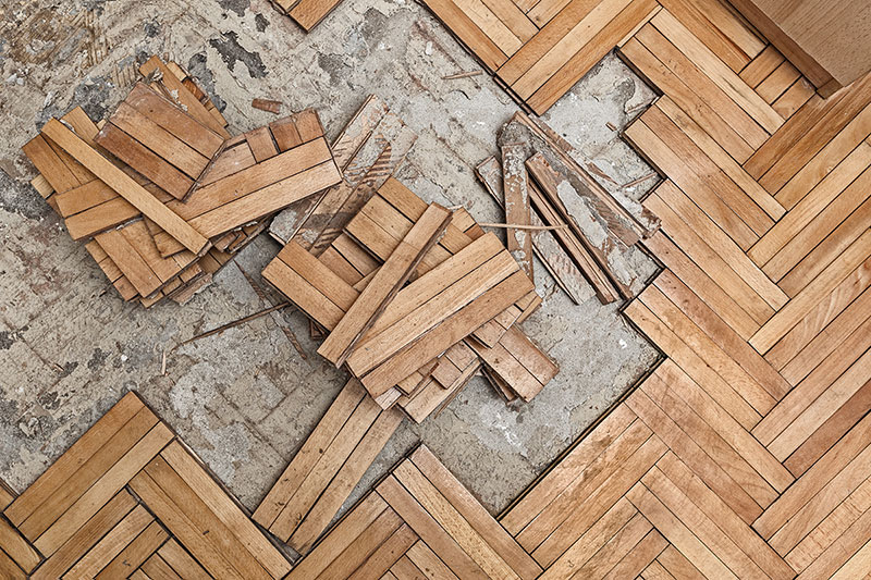With Routine Maintenance A Wood Floor May Occasionally Need New Coat Of Finish Often Deep Scratches Or Worn Spots Are Created Due To High Levels
